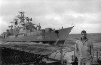 Северный флот  БПК Адмирал Юмашев